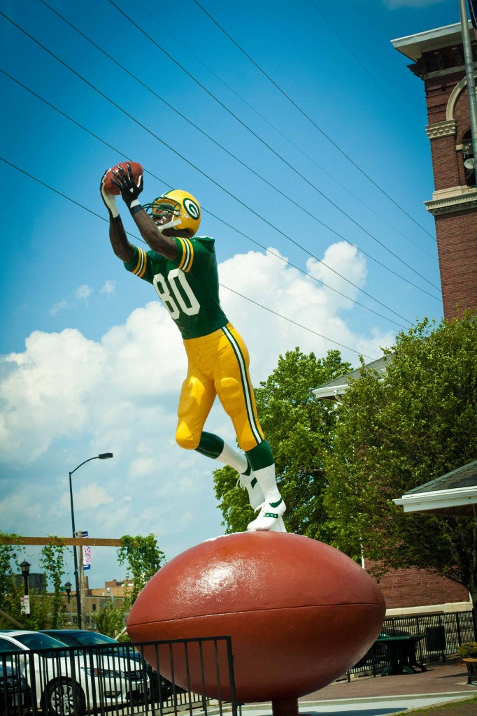 A Man and his Ball. (Donald Driver, GB Packer Receiver)[/