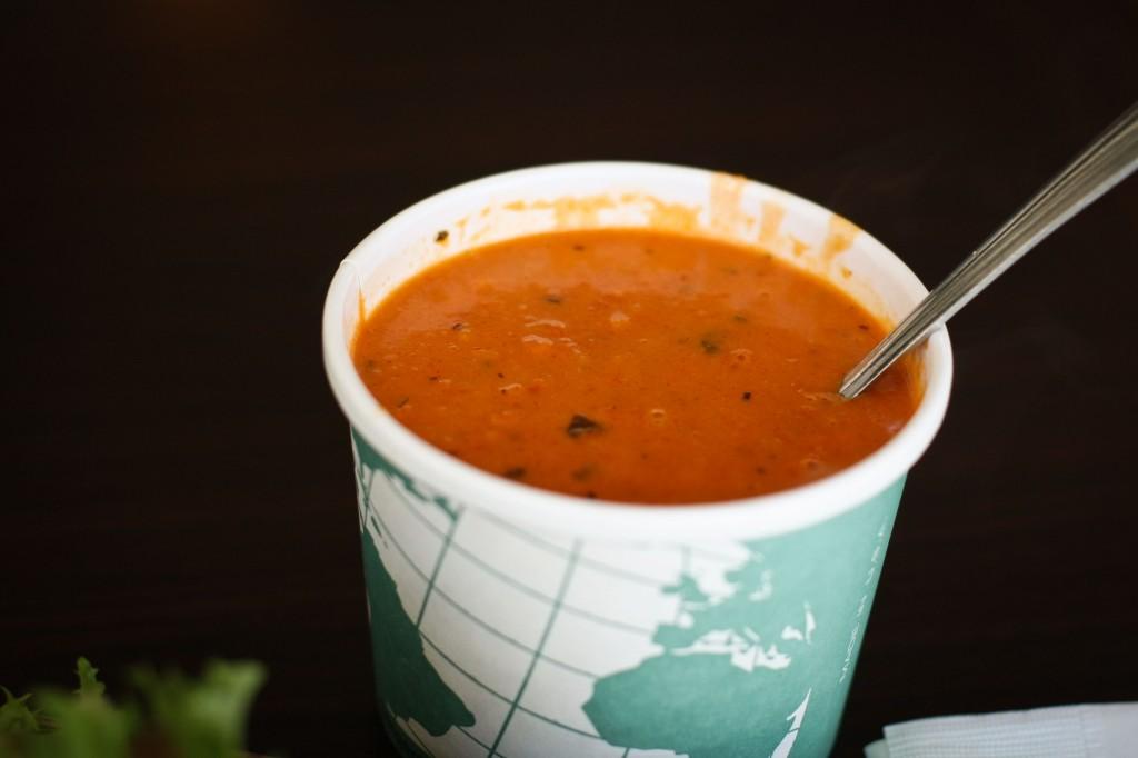 Amazing chunky Tomato Soup