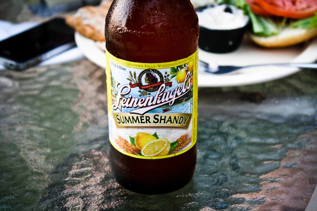 "Summer Shandy! A man's man's beer. ""It's NOT beer, but a delicious cold beverage!"" insists Tenille."
