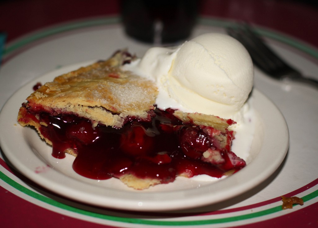 Door County Cherry Pie! Good stuff...