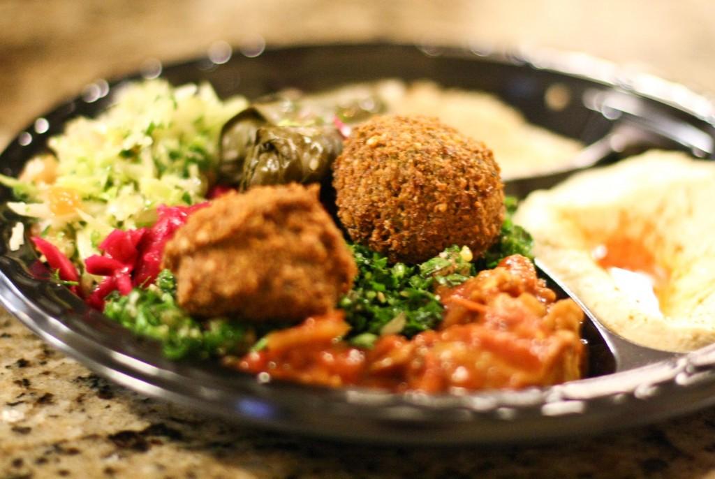 Vegetarian Combo Plate
