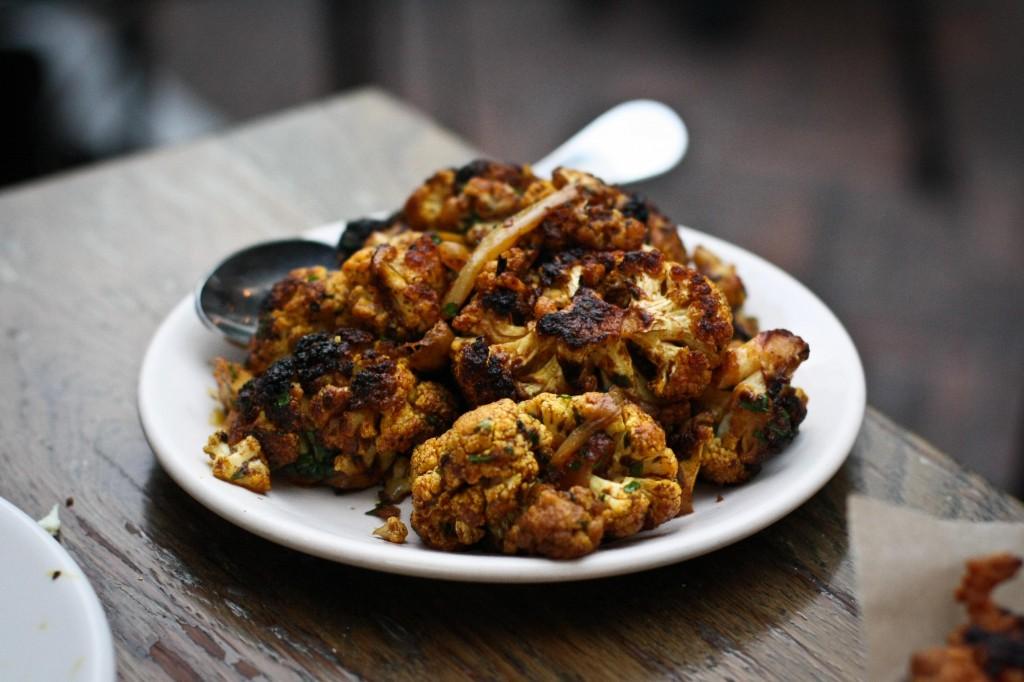 Cauliflower, Curry, Red Vinegar