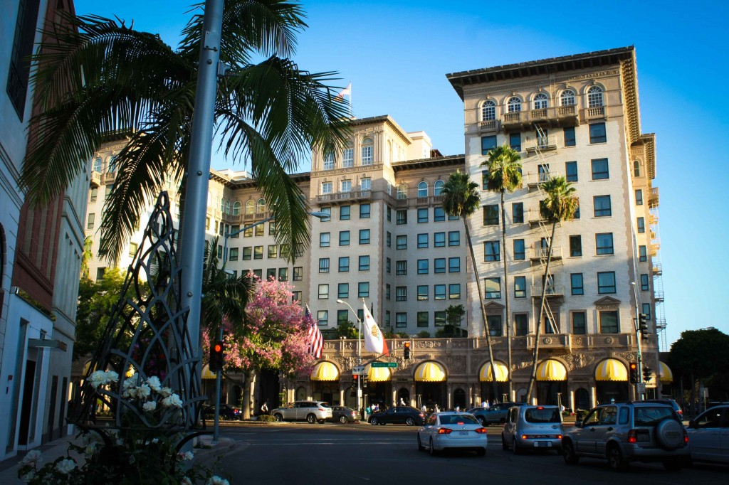 Beverly Wilshire Hotel - AKA, the Pretty Woman hotel.