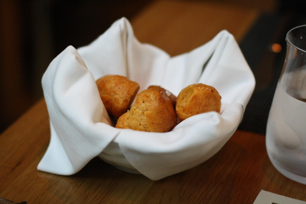 Cheese Gourgeres - Complimentary