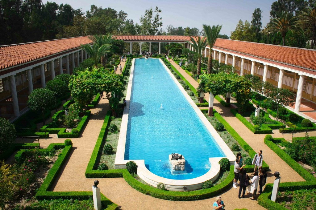 Getty Villa - The gardens and grounds are just as impressive as the museum contents.