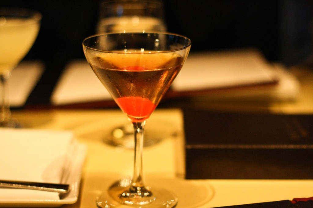 """Liquid Cherry"" Manhattan"