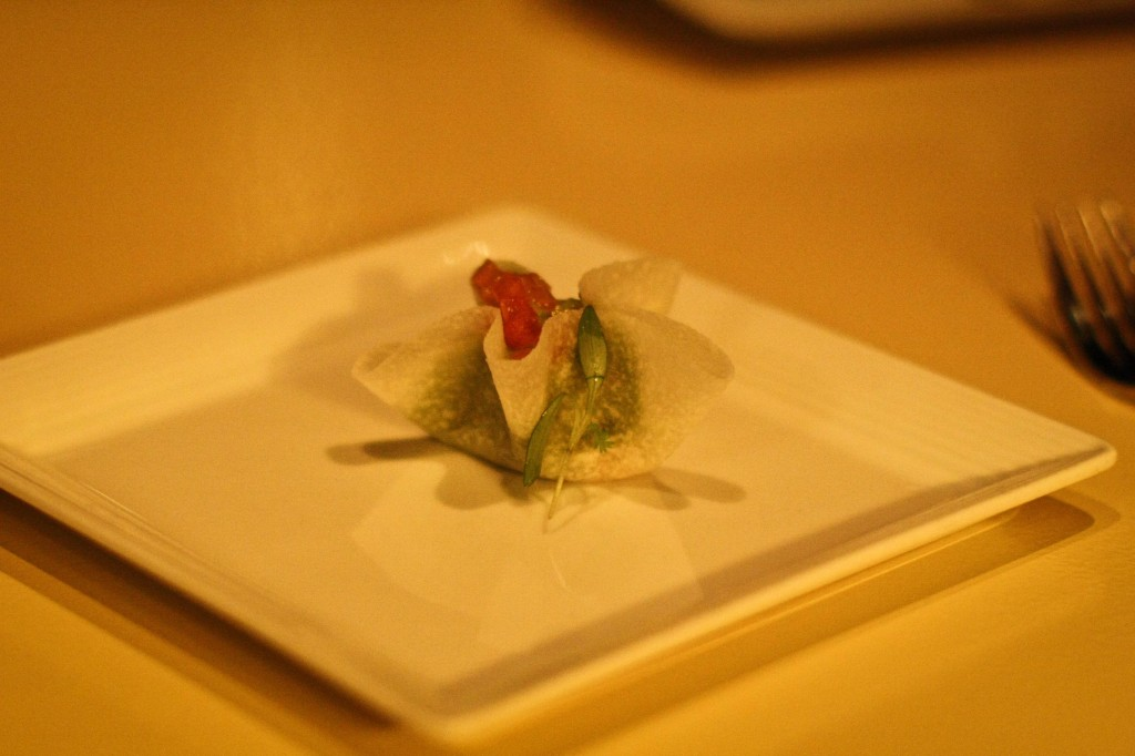 Jicama Wrapped Guacamole - BEST DISH ON THE MENU