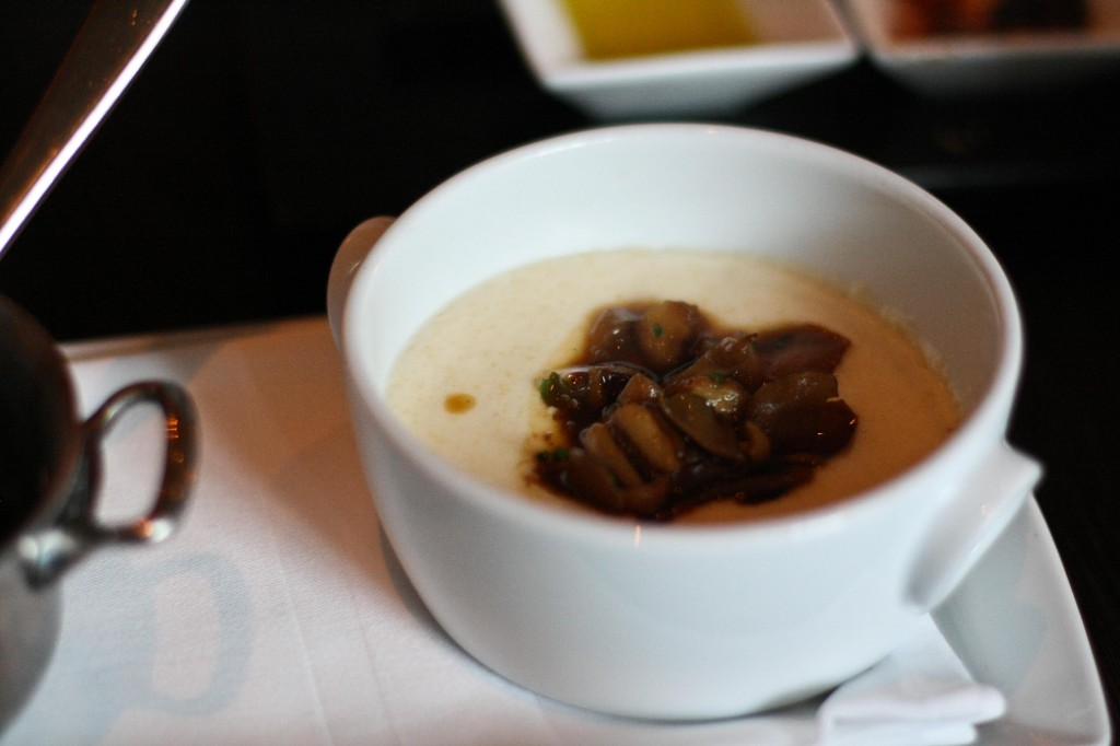 Creamy Polenta with Truffled Mushrooms