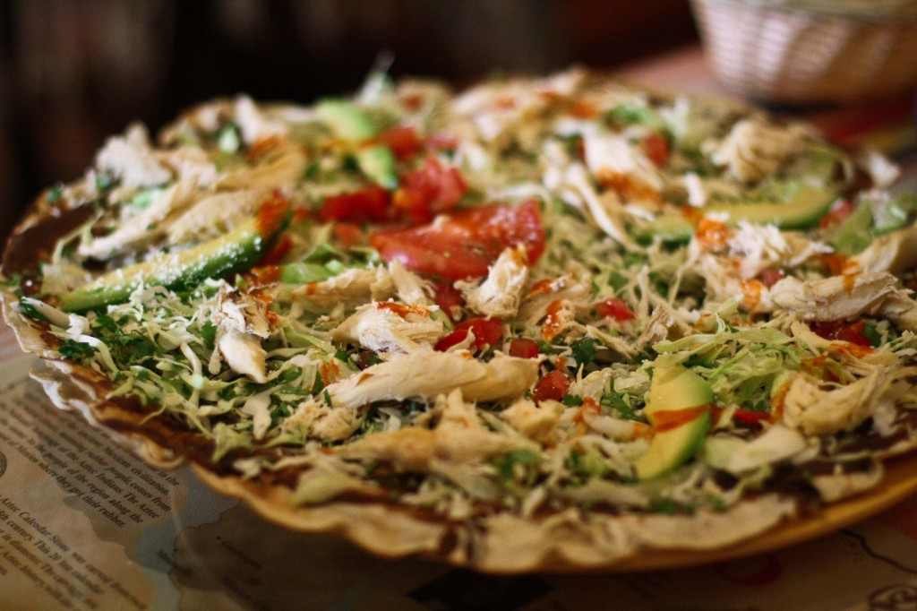 Clayuda - Mexican Pizza