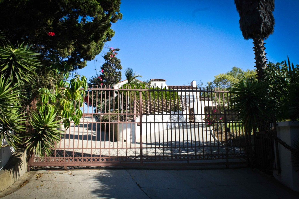 The old LaBianca Manson murder house.