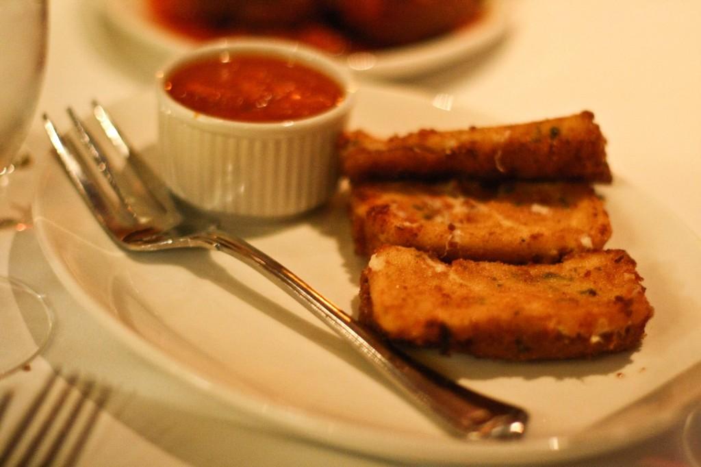 Mozarella Toasts