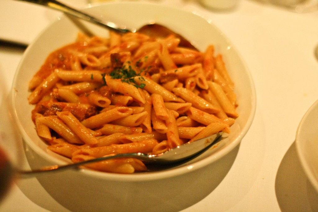 Penne with Vodka Sauce