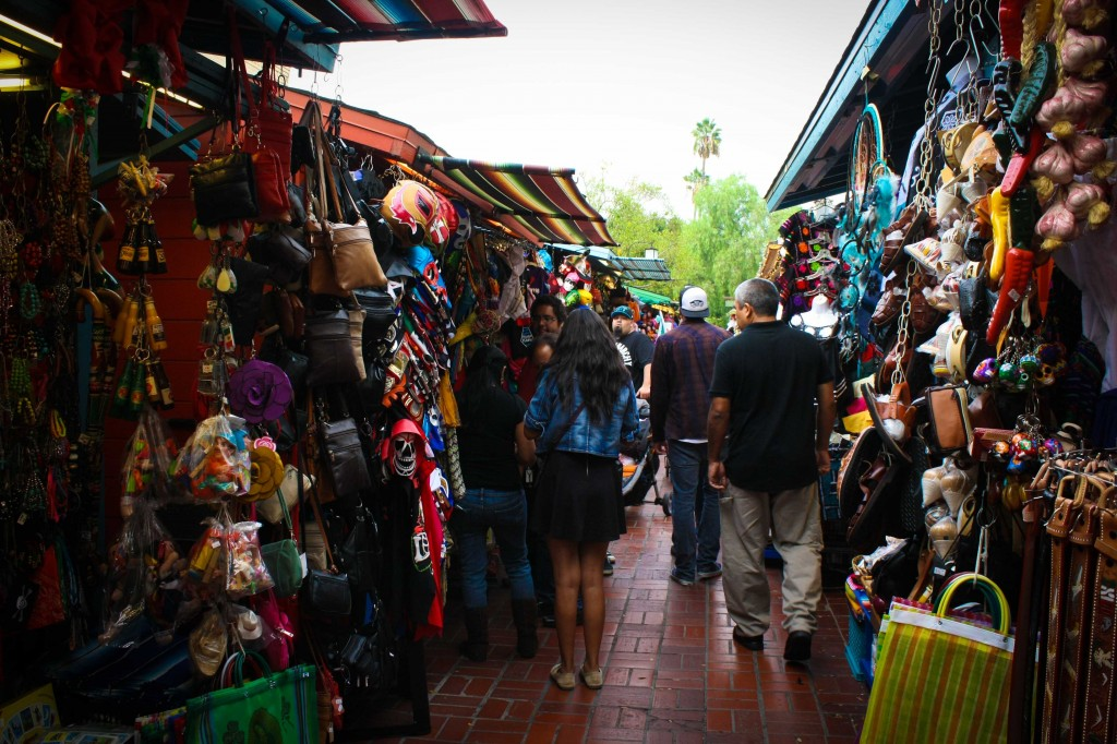 Shopping aplenty on Olvera Street