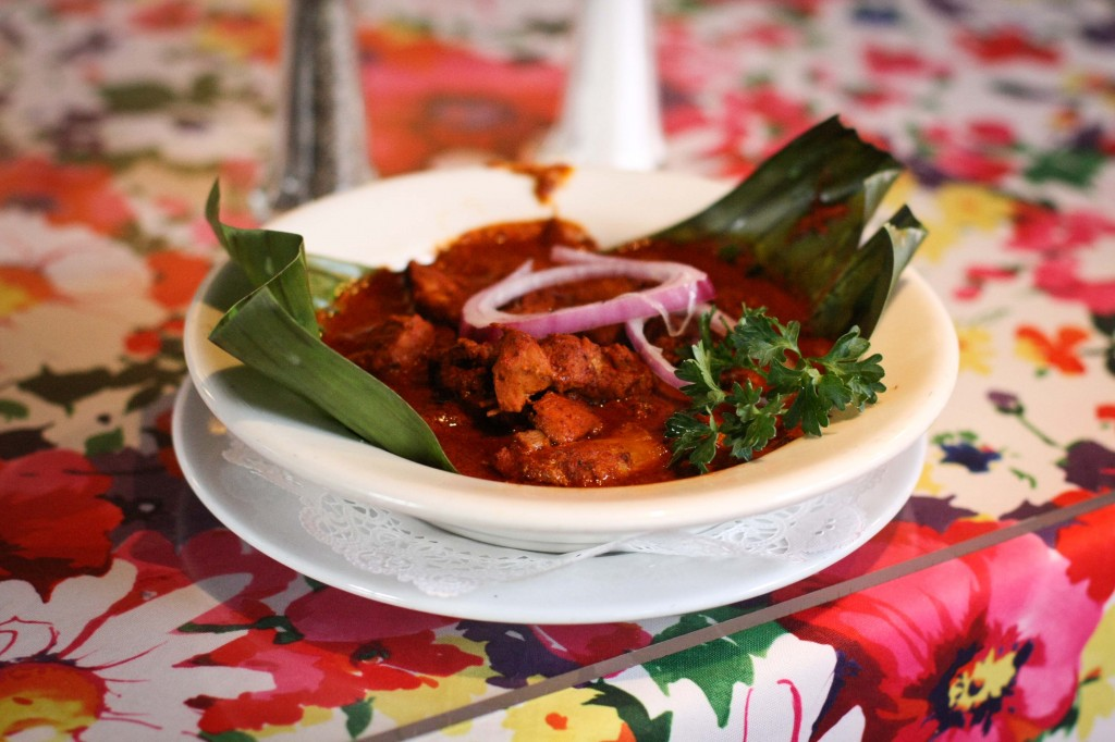 Conchinita Pibil in Banana Leaves
