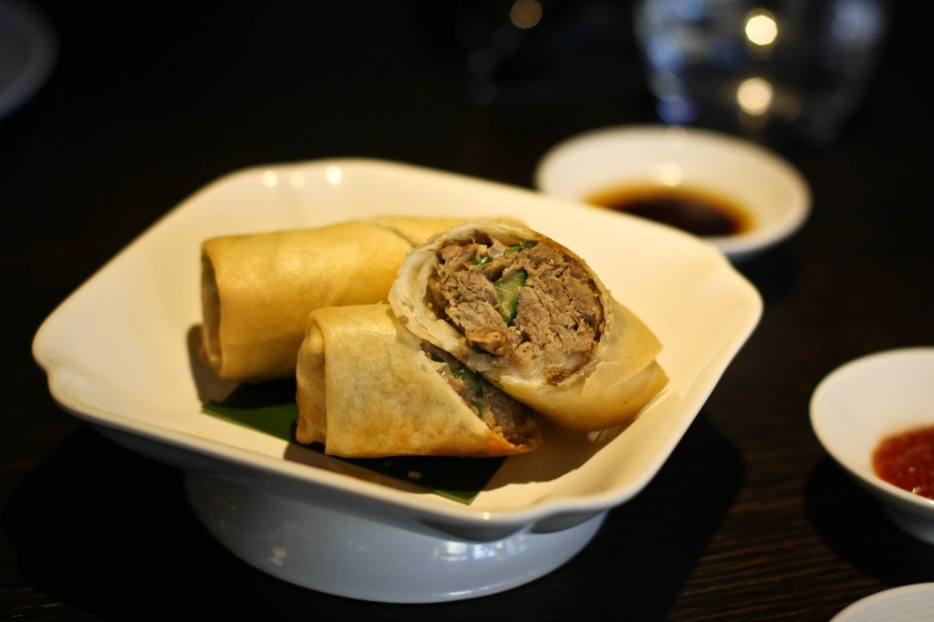 Golden Crispy Duck Roll