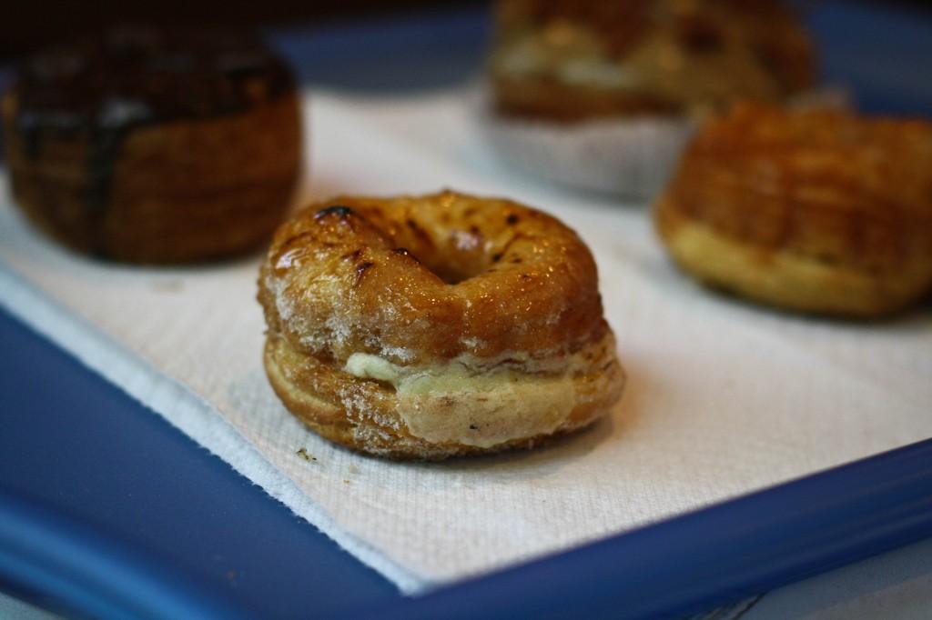 Creme Brulee Crullant - Semi-Sweet Bakery