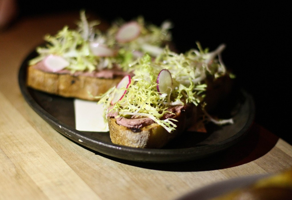Chicken Liver Mouse on Toast