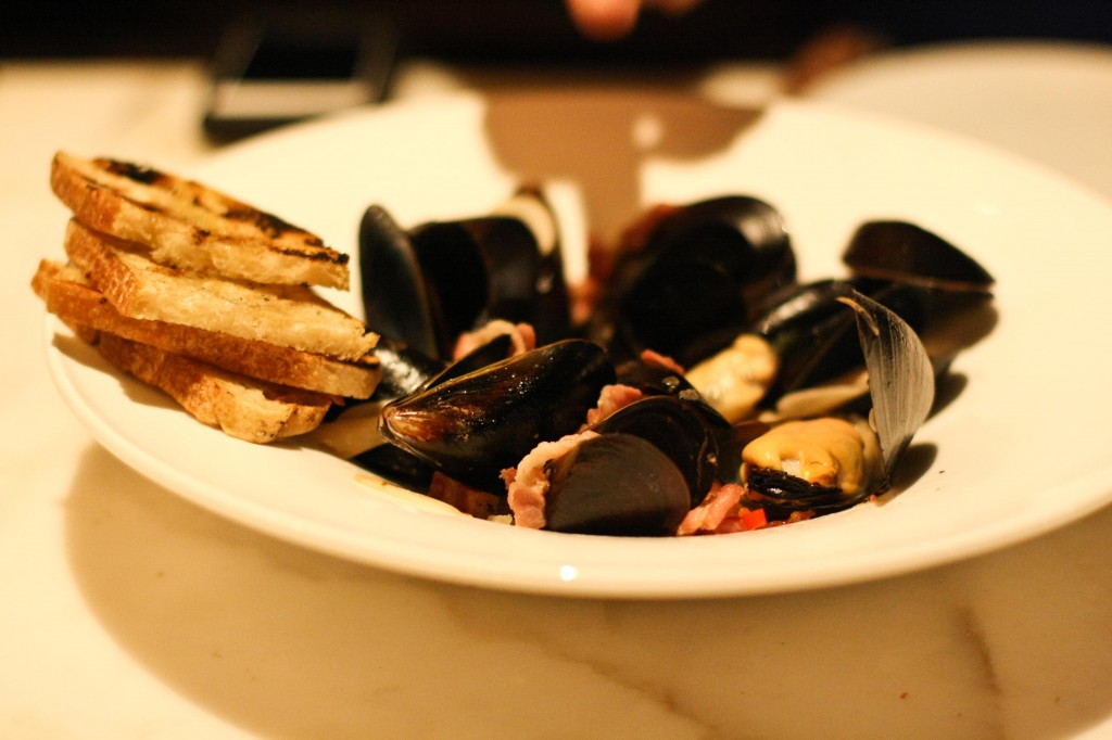 Steamed Mussels – Garlic, Calabrian Chili, Torn Mint, Butter, Lemon Zest