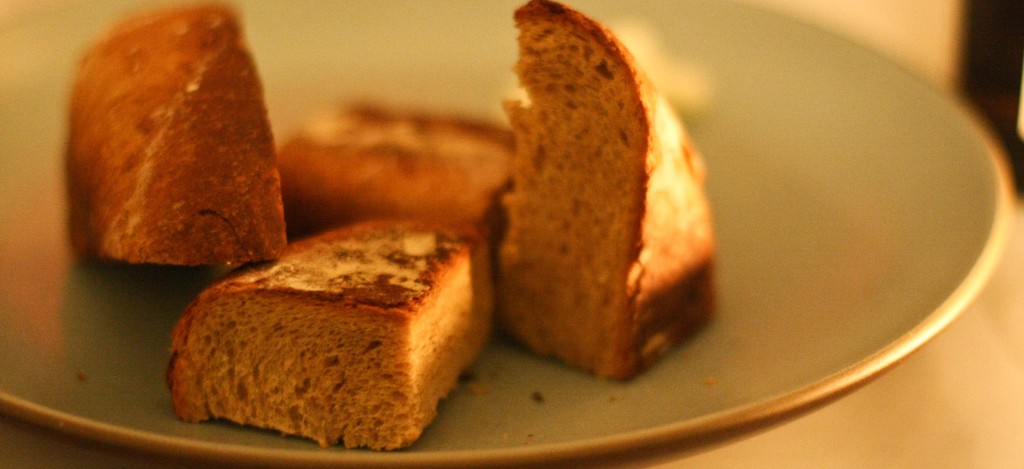 Rye Bread with cultured butter