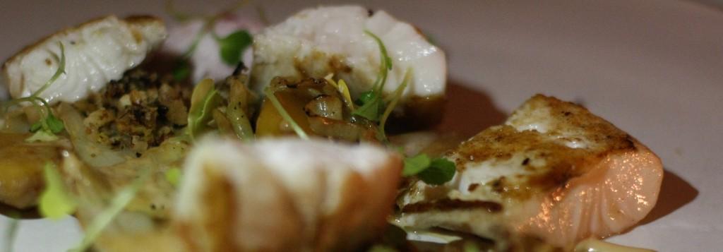 Morro Bay Cod, potato, cabbage, malt