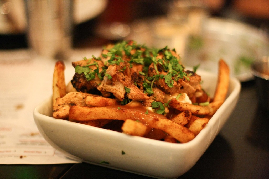 Chicken Tikka Poutine