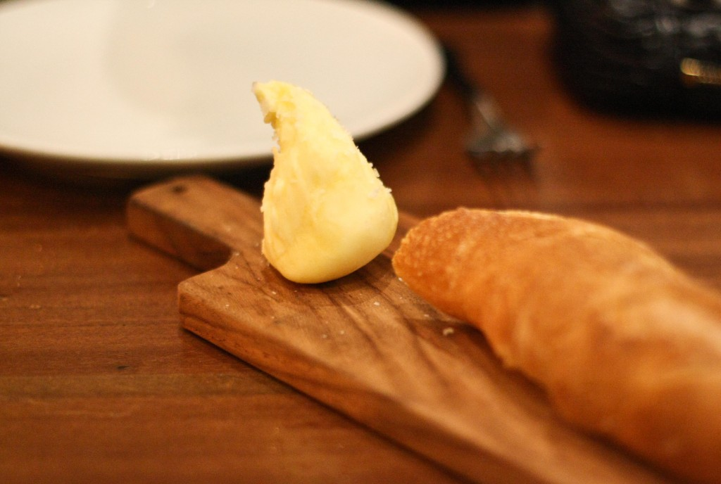 Straus Creamery Butter, baguette