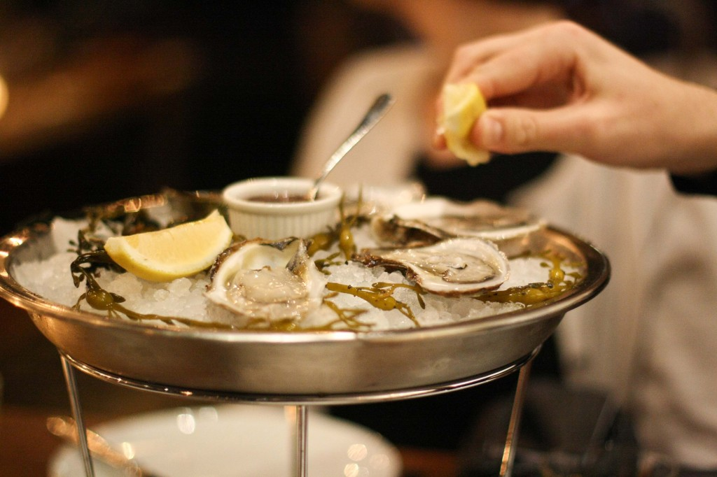 Iced Oysters