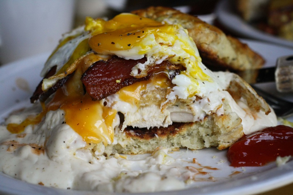 Attack of the Breakfast Monster. For some it may look dreamy, for some, a grotesque nightmare