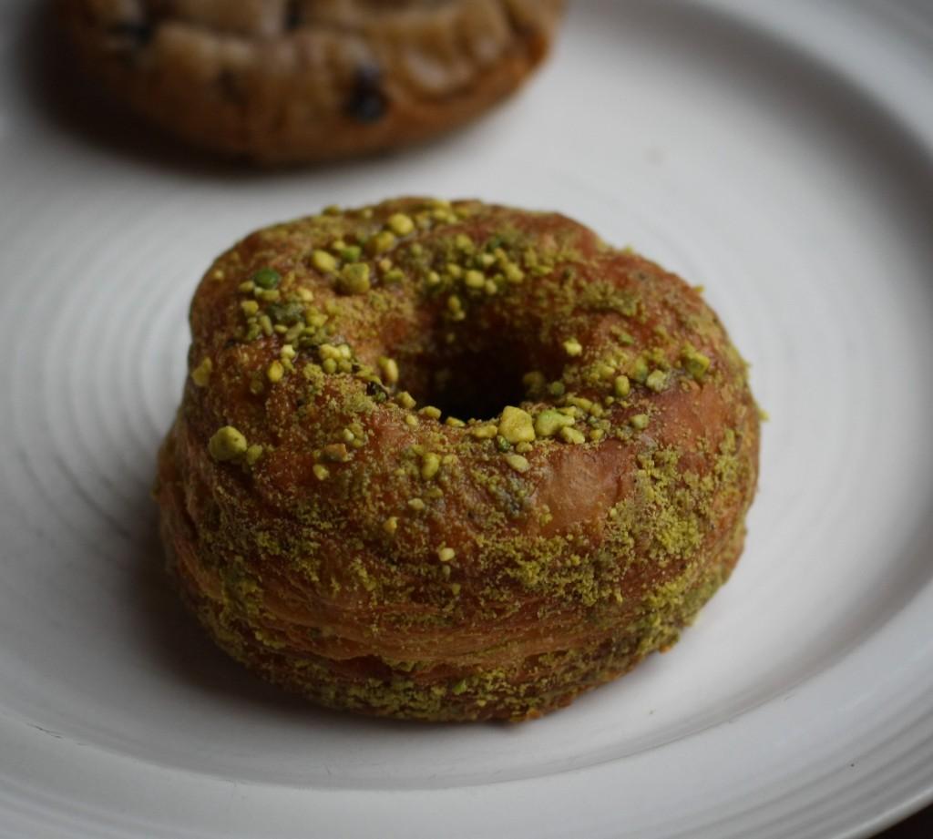 Pistachio Croissant Donut