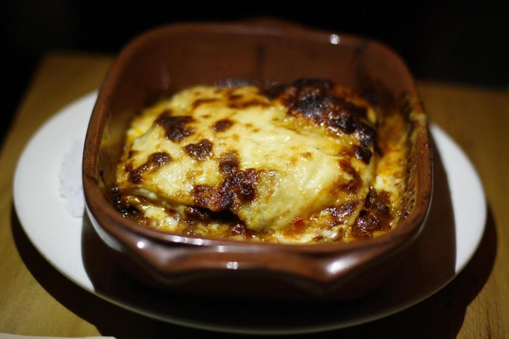Lasagna con Bocconcini della Nonna - Meatball Filled Lasagna with Bolognese Ragu'