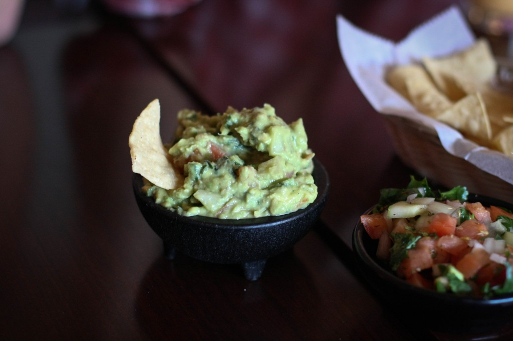 Guacamole and Pico de Gallo