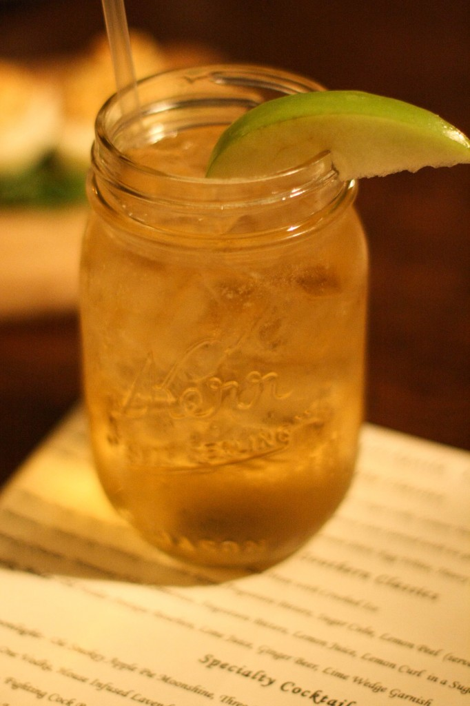 Midnight Moonlight - Apple Pie Moonshine, Vodka, Ginger ale