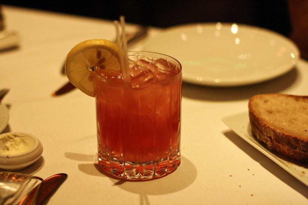 El Diablo Ardiente - Milagro Tequila, lemon juice, cassis, jalapeno agave nectar, ginger beer