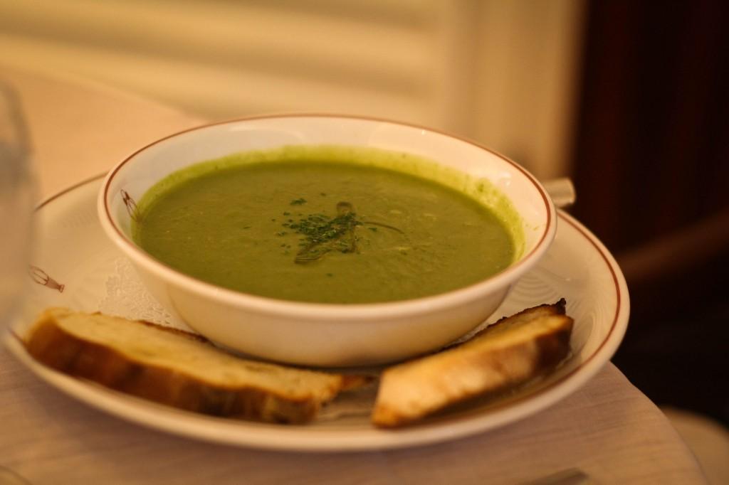 Broccolini Soup