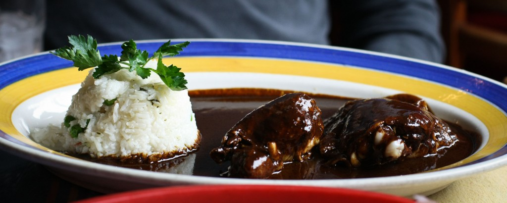 Black Mole Chicken