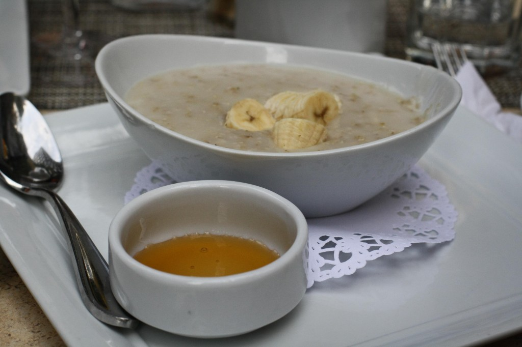 Irish Oatmeal with Banana