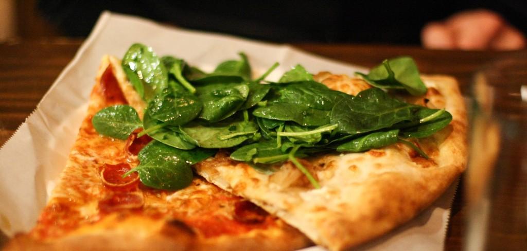 Caramelized Shallot, Spinach, Grana Padano