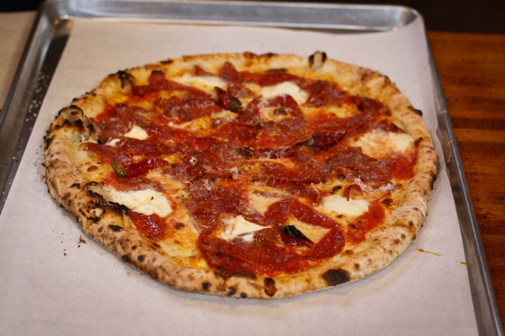 DIAVOLA - Spicy salame, pepperoni, calabrian peppers, buffalo mozzarella