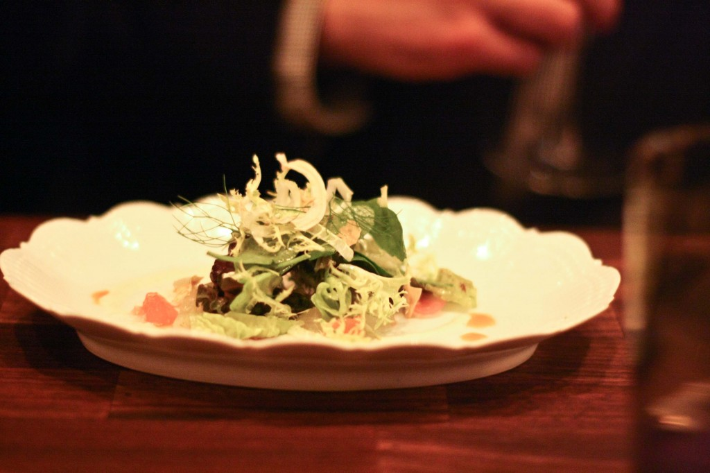 Garden Salad - Pearl onion, buttermilk, nastrutirum