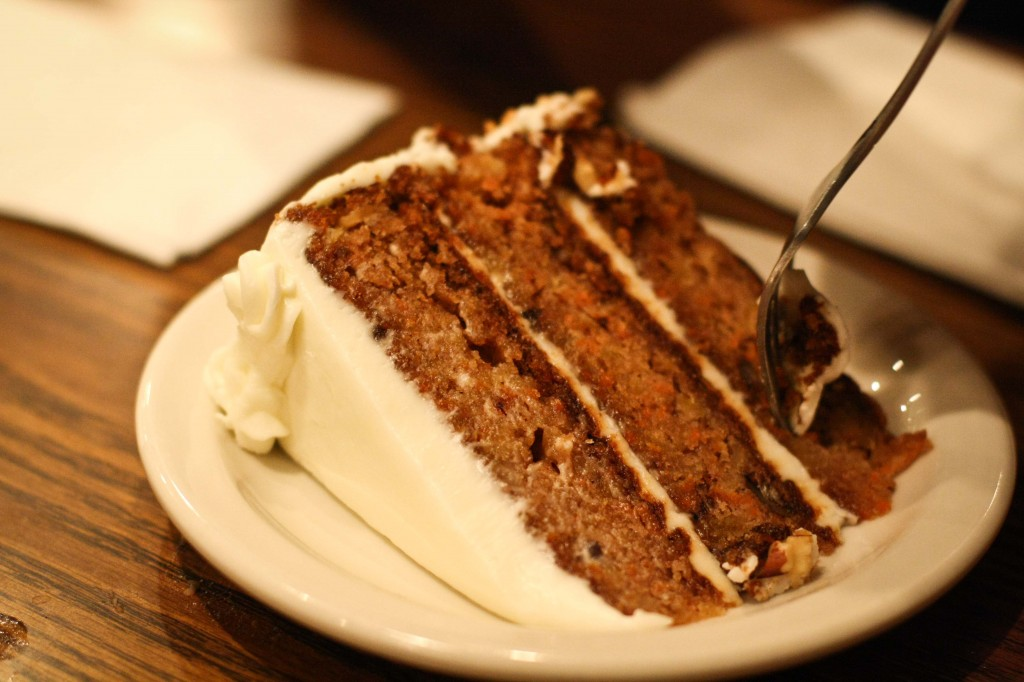 Carrot Cake (one of the best I've ever had)
