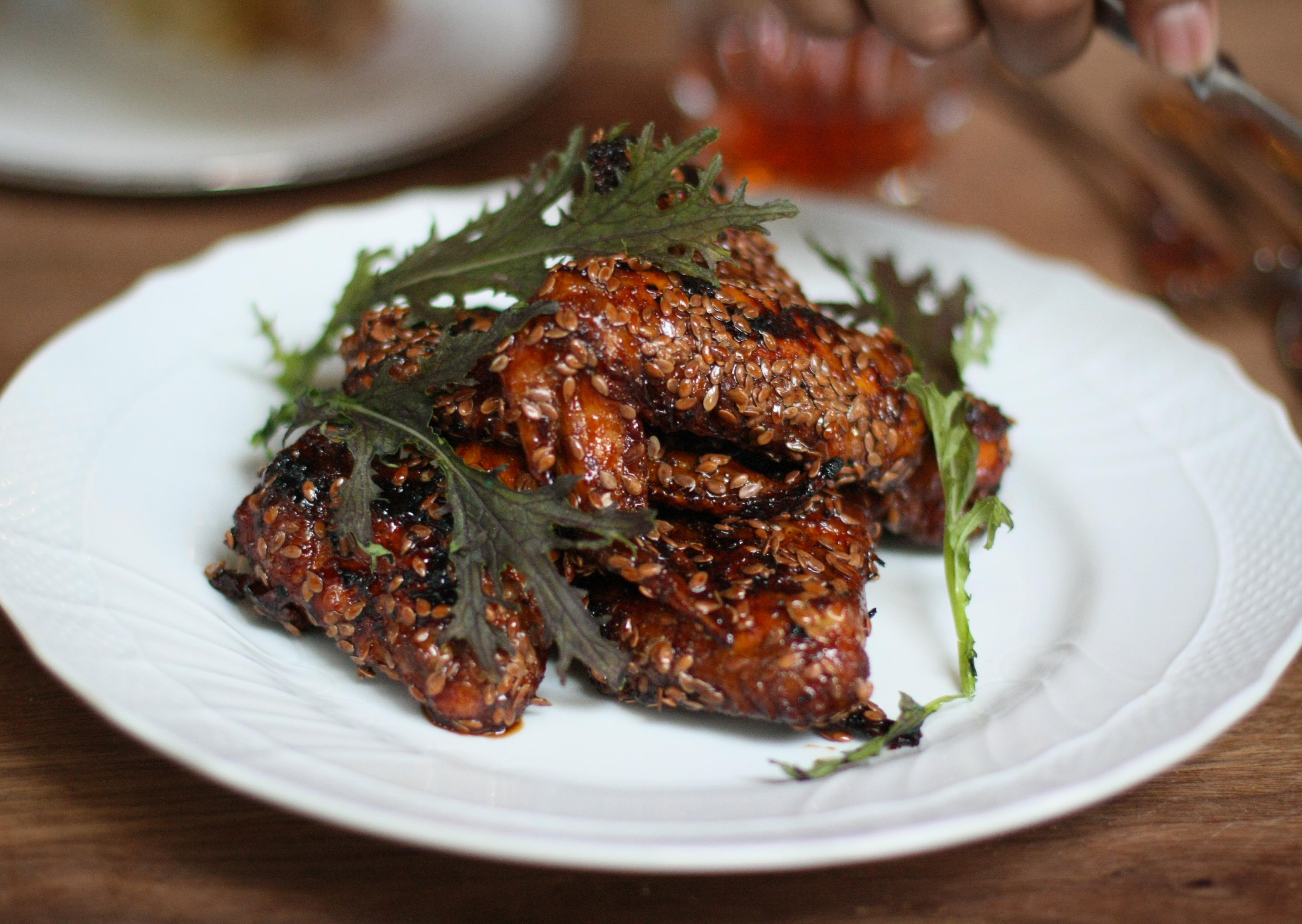 Gin And Lemon Chicken Wings Recipes — Dishmaps