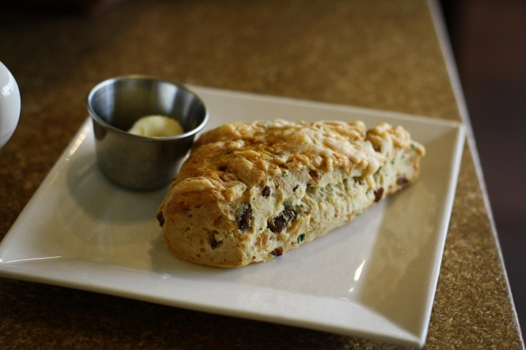 Bacon Gruyere Scone