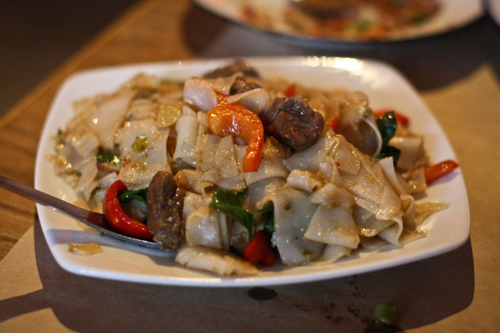 Drunken Noodles with short ribs