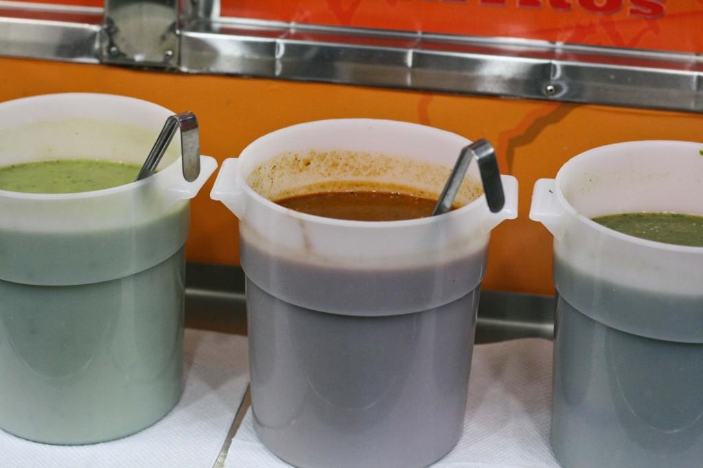 Buckets of Salsas!