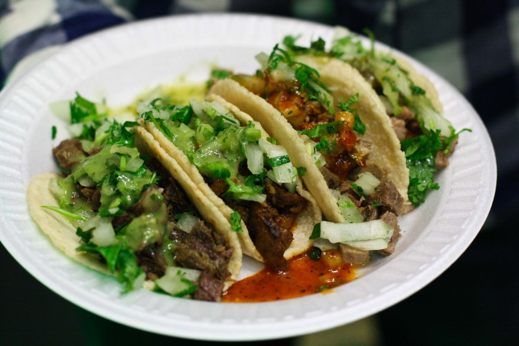 Tacos! - Lengua, Cabeza, Asada, Pastor (not in that order)