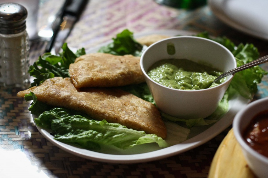 Quesadillas Fritas - Fried quesadillas