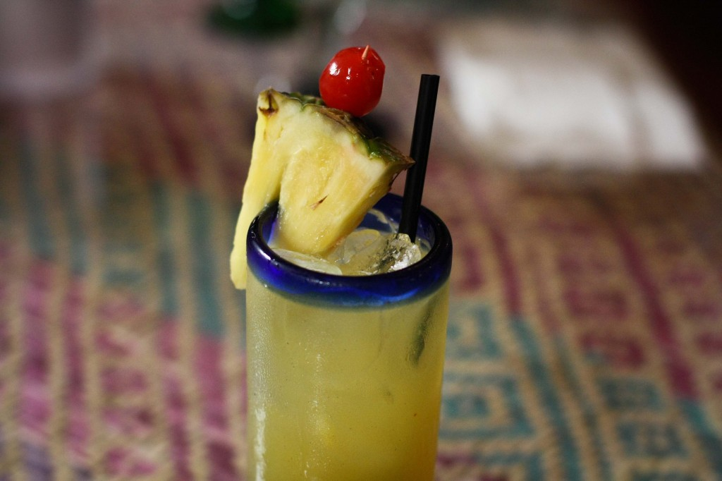 Flor de Piña -   Aged mezcal, pineapple and coconut juice, honey
