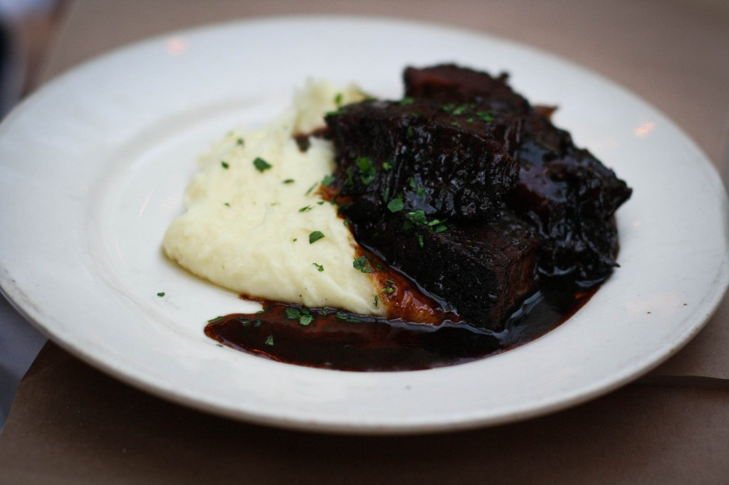 Short Ribs and Mashed Potatoes