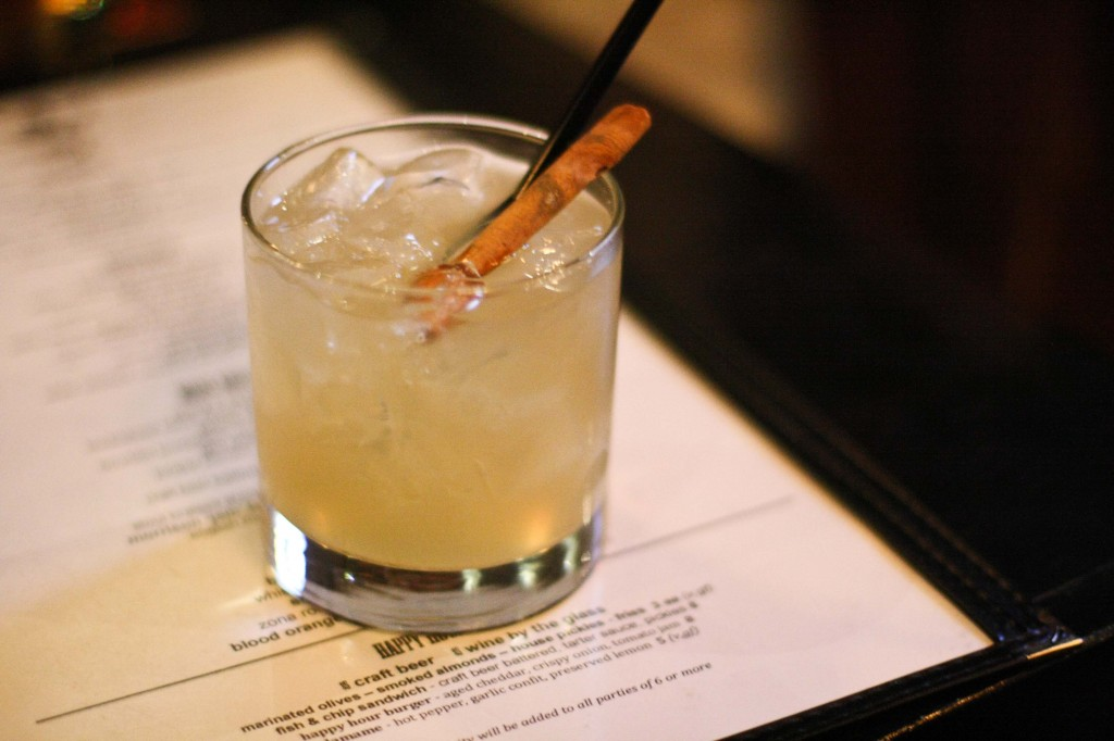 Sinnamon Stick - Cinnamon infused Tequila, orange liqueur, fresh lime