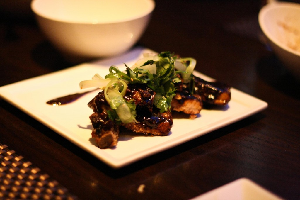Kurobuta Pork Ribs - spicy chicory coffee bbq sauce